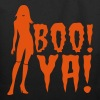 boo ya! halloween sexy lady scary ghost - Eco-Friendly Cotton Tote