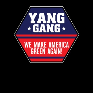 Yang For President 2020 Decal White Choose Size