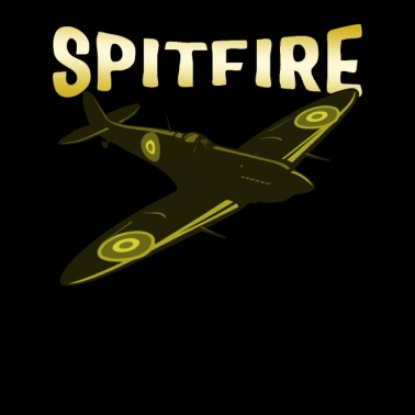 Spitfire target personalised Initials roundel T Shirt WW2 RAF MOD Airforce jet