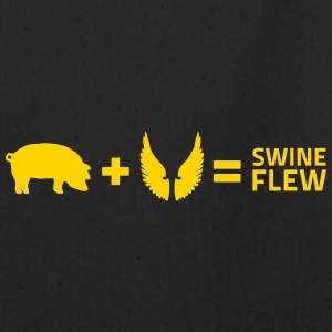 The Swine Flu - Eco-Friendly Cotton Tote