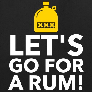 Let's Drink Rum! - Eco-Friendly Cotton Tote