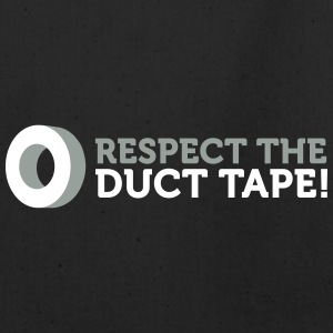 Respect The Duct Tape! - Eco-Friendly Cotton Tote