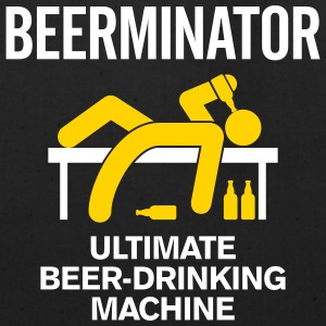 The Beerminator. Ultimate Drinking Machine! - Eco-Friendly Cotton Tote