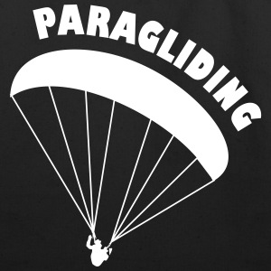 paragliding - Eco-Friendly Cotton Tote