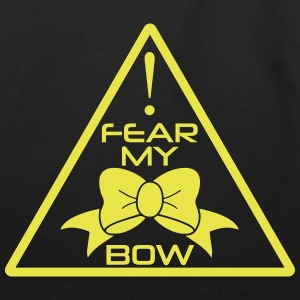 CheerleaderCollection Fear My Bow Multicolor - Eco-Friendly Cotton Tote