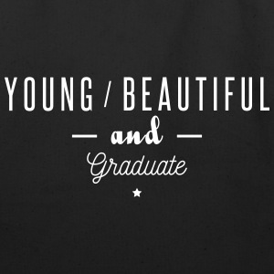 young beautiful graduate - Eco-Friendly Cotton Tote