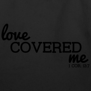 Love Covered Me - with Verse: 1 Cor. 13:7 - Eco-Friendly Cotton Tote
