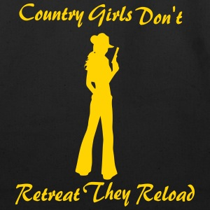 Cowgirls Don't Retreat - Eco-Friendly Cotton Tote