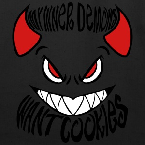 My Inner Demons Want Cookies - Eco-Friendly Cotton Tote