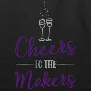 Cheers to the Makers - Eco-Friendly Cotton Tote