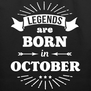 legends are born in october birthday October