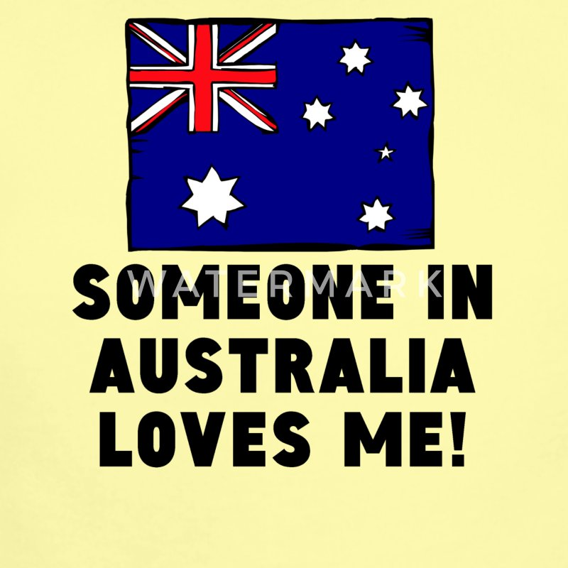 Someone In Australia Loves Me! - Short Sleeve Baby Bodysuit