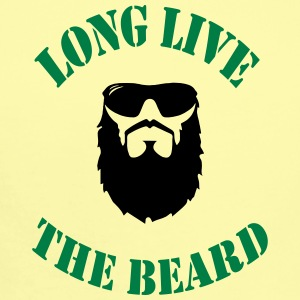 LONG LIVE THE BEARD - Short Sleeve Baby Bodysuit