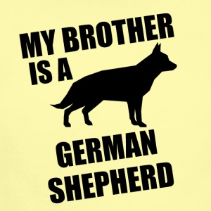 My Brother Is A German Shepherd - Short Sleeve Baby Bodysuit