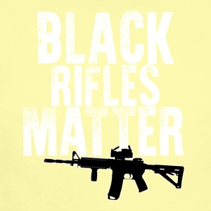 Black Rifles Matter - Short Sleeve Baby Bodysuit