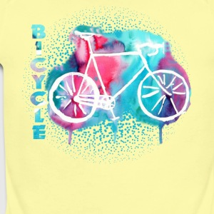 bicycle tee shirt - Short Sleeve Baby Bodysuit