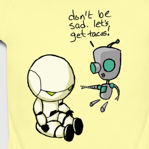 Don't Be Sad. Let's Get Tacos! - Short Sleeve Baby Bodysuit