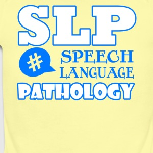 speech language pathologist shirt - Short Sleeve Baby Bodysuit