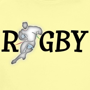 Rugby - Short Sleeve Baby Bodysuit
