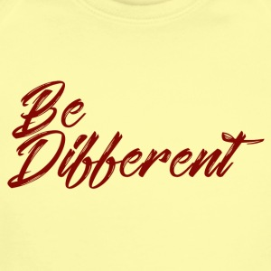 be different - Short Sleeve Baby Bodysuit