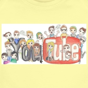 Youtube and everyone - Short Sleeve Baby Bodysuit