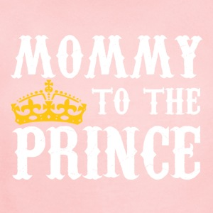Mommy To The Prince - Mother Of Prince - Short Sleeve Baby Bodysuit