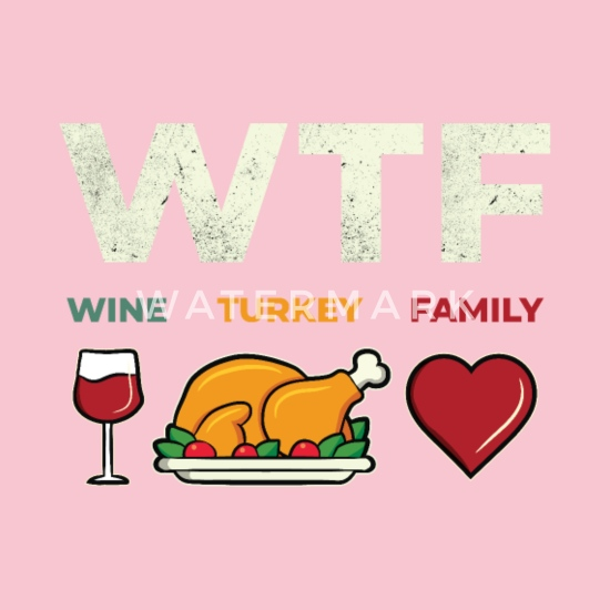 Funny Thanksgiving Day Turkey Quote Dinner Gift Organic ...