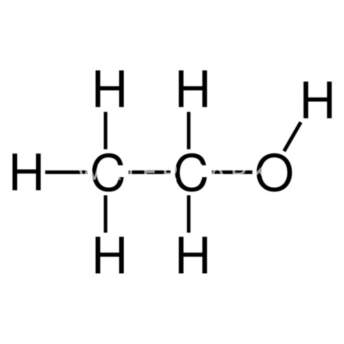 Ethanol Alcohol Structural Formula By MixedGood Spreadshirt