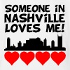 Someone In Nashville Tennessee Loves Me - Short Sleeve Baby Bodysuit