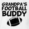 Grandpa's Football Buddy - Short Sleeve Baby Bodysuit