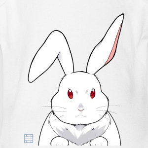 White Rabbit - Short Sleeve Baby Bodysuit