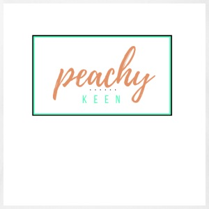 peachy keen - Short Sleeve Baby Bodysuit