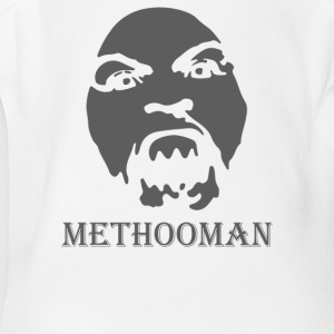 Method Man airbrush Stencil - Short Sleeve Baby Bodysuit