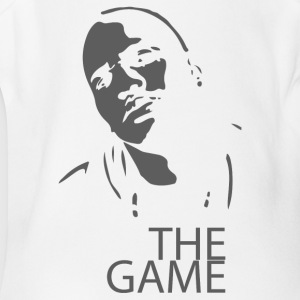 The Game Airbrush Stencil - Short Sleeve Baby Bodysuit