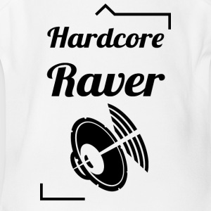 Hardcore Raver - Short Sleeve Baby Bodysuit