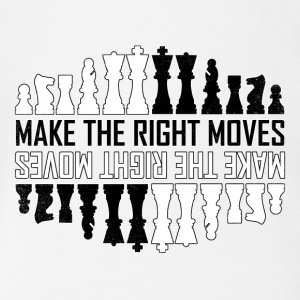 Make the right moves Chess Checkmate Chess Board - Short Sleeve Baby Bodysuit