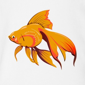 Goldfish - Short Sleeve Baby Bodysuit