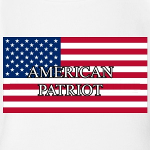 American Patriot - Short Sleeve Baby Bodysuit