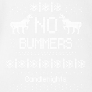Candlenights No Bummers - Short Sleeve Baby Bodysuit