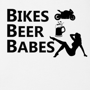 Bikes Beer Babes - Short Sleeve Baby Bodysuit