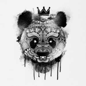 King Panda - Short Sleeve Baby Bodysuit