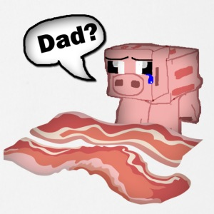 Bacon Shirt - Short Sleeve Baby Bodysuit