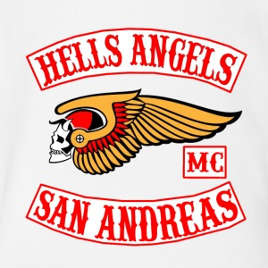 Hell angels - Short Sleeve Baby Bodysuit