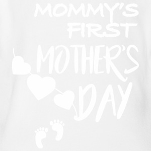 Mommys First Mothers Day - Short Sleeve Baby Bodysuit