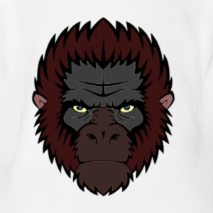 ape - Short Sleeve Baby Bodysuit