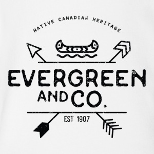 Evergreen and Co. Classic Canoe - Short Sleeve Baby Bodysuit