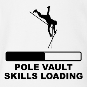 Pole Vault Skills Loading - Short Sleeve Baby Bodysuit
