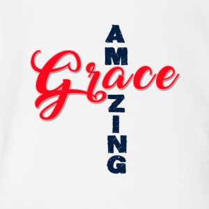 Amazing Grace - Short Sleeve Baby Bodysuit