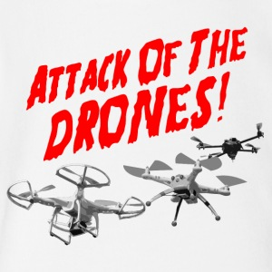 Attack of the Drones - Short Sleeve Baby Bodysuit