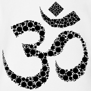 om sign - Short Sleeve Baby Bodysuit